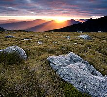 Sunset from High Moor by Michael Gay