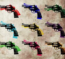 Nine Revolvers by Michael Tompsett