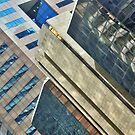 Shapes and patterns of Raffles Place by Adri  Padmos