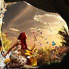 Endless summer butterfly dance by Fiery-Fire