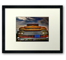 Textured Ford Truck Framed Print