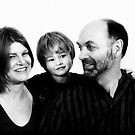 Family in B&W - 1 by JimFilmer