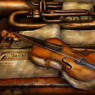 Musician - Violin - Played it's last song  by Mike  Savad
