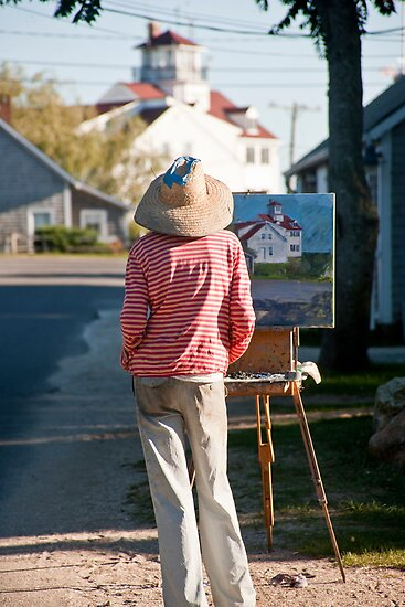 Menemsha Artist by phil decocco