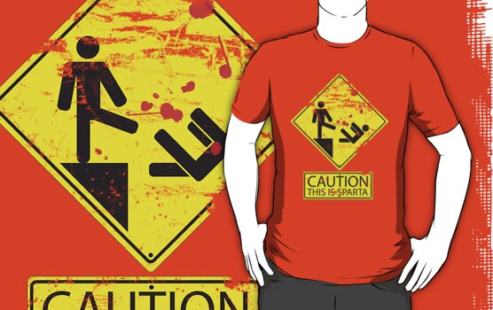 Caution! This is Sparta! by Ryan Wilton