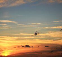 Saunton skies. by bared