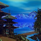Peaceful Pagoda by plunder