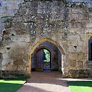 Arches at Bodiam Castle – 2 by hootonles