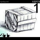 September 19th - Just another packing case by 365 Notepads -  School of Faces