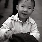 Boy with hat by PeterDamo