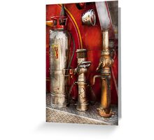 Fireman - Fighting Fires  Greeting Card