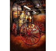 Fireman - One day, a long time ago  Photographic Print
