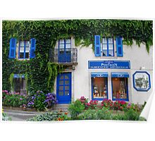 Brittany Biscuits shop in Pont-Aven Poster