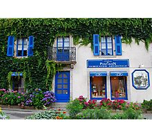 Brittany Biscuits shop in Pont-Aven Photographic Print