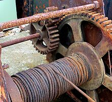Old Winch at Dungeness by hootonles
