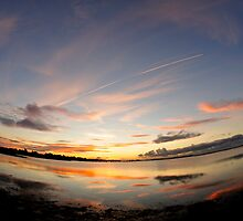 Christchurch Harbour - Prelude To Dawn by delros