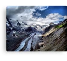 The Pasterze Glacier, Grossglockner, Austria. Canvas Print