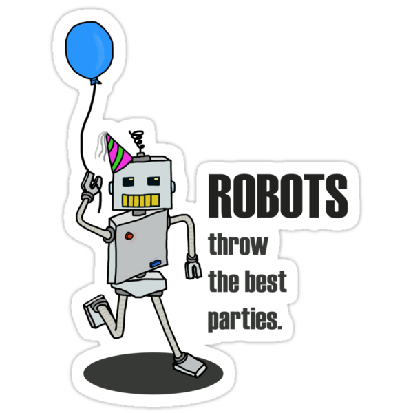 Robot Party by rubblepubble