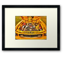 Cobra Engine 2 Framed Print