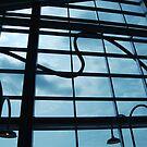 industrial sky by Joseph Valcourt/Modernus Art Studio