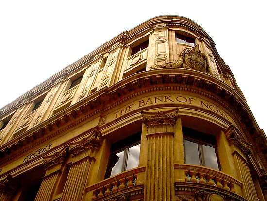 The Bank of Nova Scotia (La Habana) by Valerie Rosen