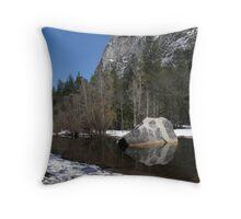 Reflections Below Mt. Watkins Throw Pillow