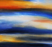 Brush Strokes no. 1 by PureWhiteArt