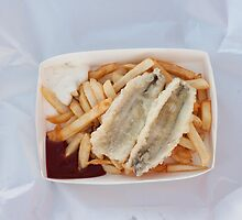 fish and chips by Skye Hohmann