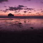 Deserted beach - Trebarwith Strand, cornwall by Adam North