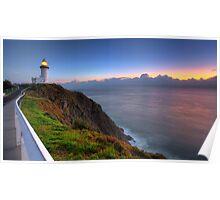 Cape Byron Sunrise Poster