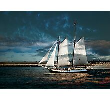 Sail with us Photographic Print