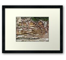 Iced Layer cake Framed Print