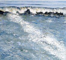 Cornish Wave by Sue Nichol