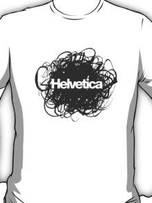 Helvetica Scribble T-Shirt