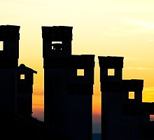 Chimneys by Blaz Erzetic