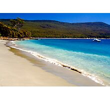 A glorious Bruny Island beach, Tasmania Photographic Print