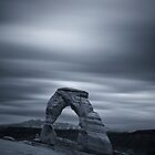 Not so Delicate Arch by Tomas Kaspar