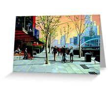 Southbank Promenade Greeting Card