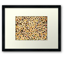 Floor Puzzle Framed Print