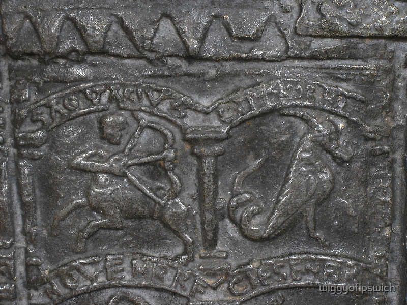 Sagittarius, Lead Font Design, 1150 by wiggyofipswich