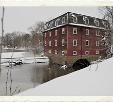Kingston Mill - Kingston, NJ by KGSPhoto