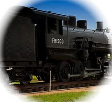 Vintage Locomotive by Swede