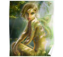 elf in wood  Poster