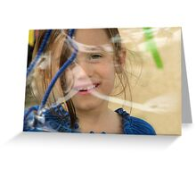 The timeless joy of bubbles Greeting Card