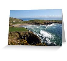 Surf's up - Tralor Beach, Co Donegal Greeting Card