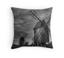 Great Old Days Throw Pillow