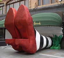 Clean pair of heels - Harrods, London by BlackhawkRogue