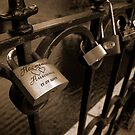 Locked in Love, Riga, Latvia by MikeyLee