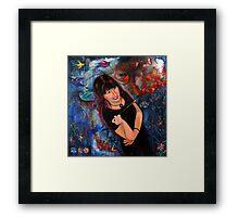 Cheryl CP Framed Print