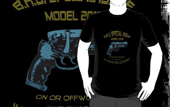 Bladerunner Gun by Phantom Spaceship Design